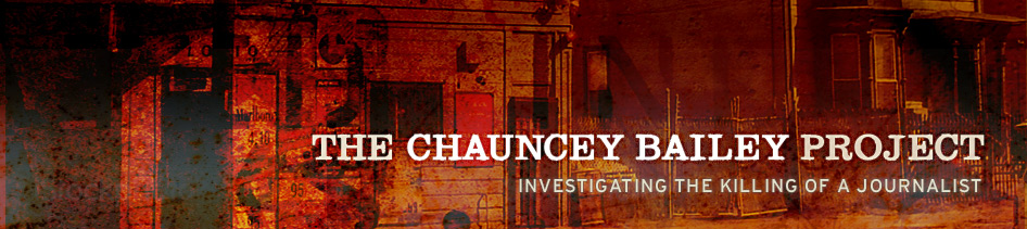 Chauncey Bailey Project