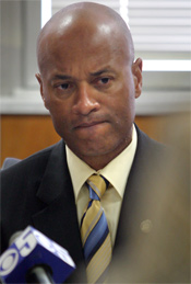 Oakland's Assistant Police Chief Howard Jordan (Laura A. Oda, Oakland Tribune)