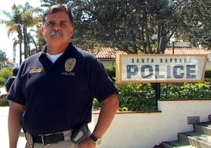 Santa Barbara police Lt. Amando Martel (Bob Butler photo)