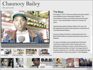 Chauncey Bailey: life and work