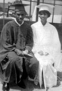 Chauncey Bailey and his sister Lorelei Waqia graduating from Hayward High. (Photo courtesy of the family)