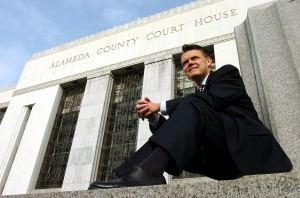 Superior Court Judge Tom Reardon is photographed outside the Alameda County Courthouse in Oakland Thursday, March 26, 2010. (Kristopher Skinner/Oakland Tribune)