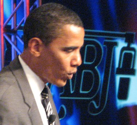 Senator Barack Obama remembers Chauncey Bailey at the National Association of Black Journalists annual convention Aug. 8-12, 2007, in Las Vegas.